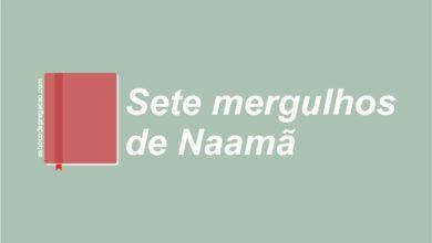 Quem foi Naamã Sete mergulhos de Naamã