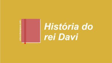 Estudo sobre Davi, a vida de Davi