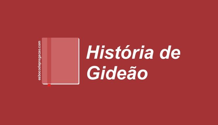 Estudo sobre Gideão