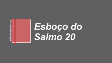 Salmo 20 esboço de pregação